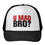 ¿Usted Bro enojado? Gorros Bordados