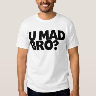 ¿Usted bro enojado? No soy incluso bro. enojado Playera