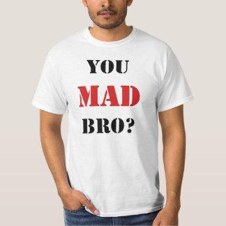 ¿Usted Bro enojado? Nueva edición para la camiseta Playeras