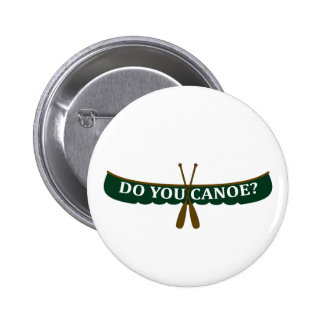 ¿Usted Canoe Pin