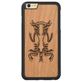 Usted chupa - la caja más de la cereza del iPhone Funda De Cerezo Bumper Carved® Para iPhone 6 Plus