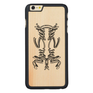 Usted chupa - la madera más cas del arce del funda de arce carved® para iPhone 6 plus slim