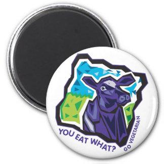 ¿Usted come lo que? Vaca Iman De Nevera