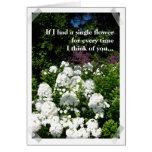 Usted compone el jardín de mi tarjeta de la vida