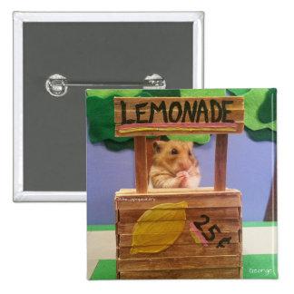 ¿Usted comprará un poco de limonada? ¿El bonito Pin