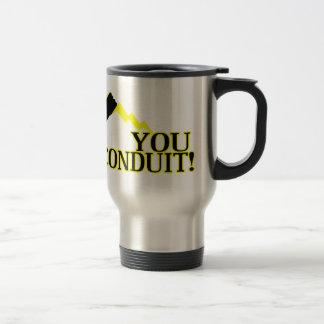 Usted conducto taza de viaje