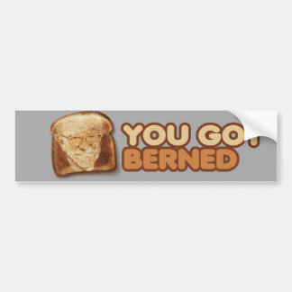 Usted consiguió Berned - las chorreadoras de Pegatina Para Auto