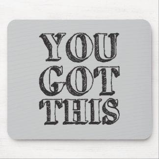 Usted consiguió esto mouse pads