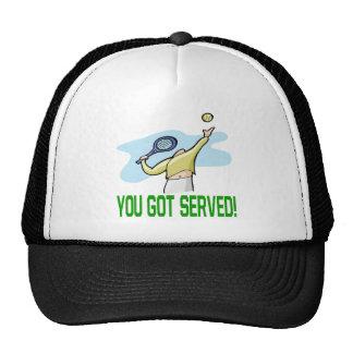 Usted consiguió servido gorro