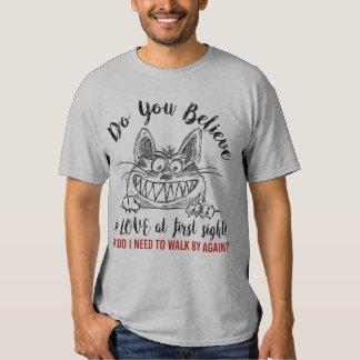 ¿Usted cree en AMOR en la primera vista? Camisas