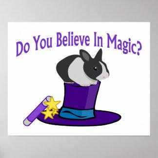 Usted cree en magia impresiones