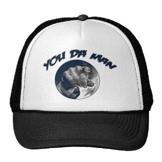 Usted DA sirve la gorra de béisbol del diseño