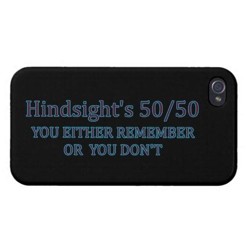 Usted de la retrospección 50/50 o recuerdan o uste iPhone 4 cárcasas