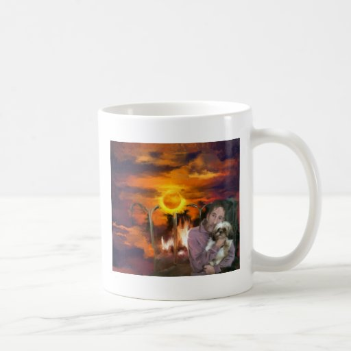 usted debe me_Painting.jpg Taza De Café