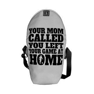 Usted dejó su fútbol del juego en casa bolsas de mensajería