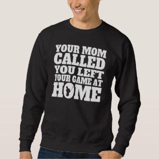 Usted dejó su golf del juego en casa suéter