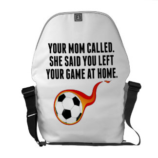 Usted dejó su juego en casa bolsas de mensajería