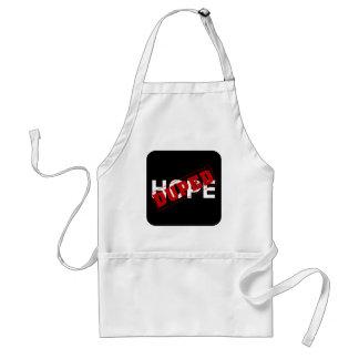 Usted duped por una droga de la esperanza (2) delantal