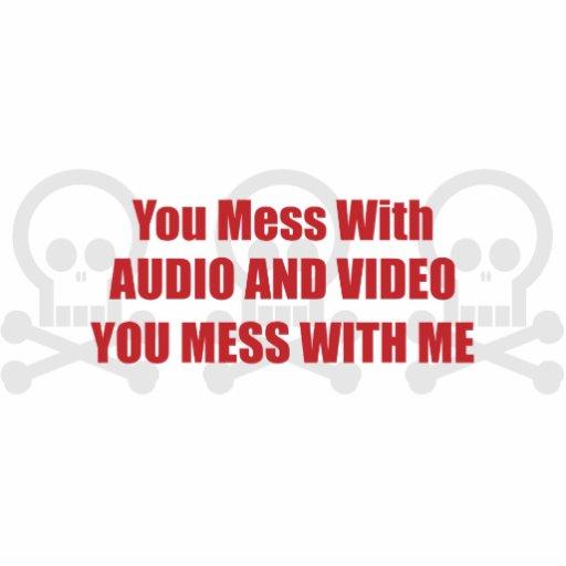 Usted ensucia con audio y vídeo que usted ensucia  esculturas fotograficas