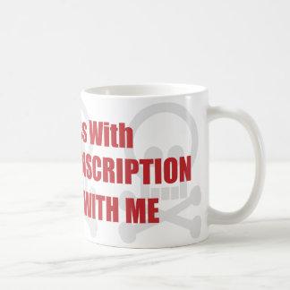 Usted ensucia con la transcripción médica que uste tazas de café