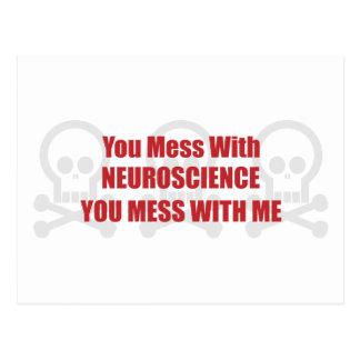 Usted ensucia con neurología que usted ensucia con postales