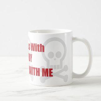 Usted ensucia con rugbi que usted ensucia conmigo taza de café