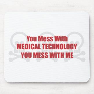Usted ensucia con tecnología médica que usted ensu tapetes de ratón