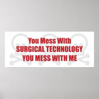 Usted ensucia con tecnología quirúrgica que usted impresiones