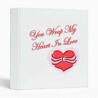 Usted envuelve mi corazón en amor