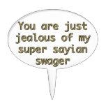 Usted es apenas celoso de mi estampador sayian est figuras de tarta