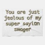 Usted es apenas celoso de mi estampador sayian est toalla de cocina