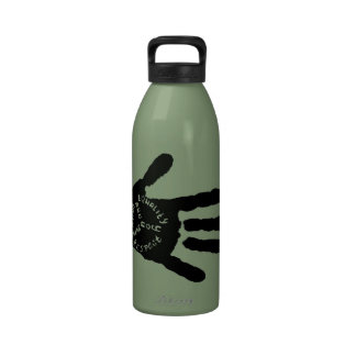Usted es botella de agua humana