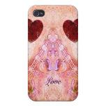 Usted es caso amado del iPhone 4 de la tarjeta del iPhone 4 Cárcasas