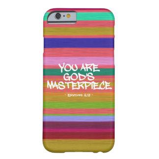Usted es cita de Ephesians de la obra maestra de Funda Para iPhone 6 Barely There