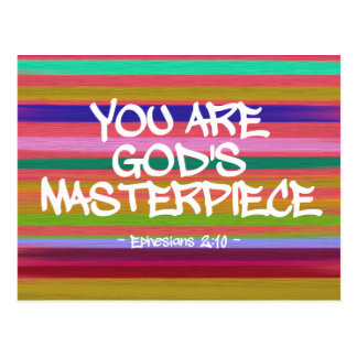Usted es cita de Ephesians de la obra maestra de Postales