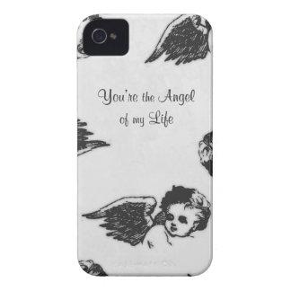 """""""Usted es el ángel caso del iphone de mi vida"""" iPhone 4 Case-Mate Carcasa"""