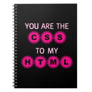 Usted es el CSS a mi HTML Libros De Apuntes