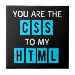 Usted es el CSS a mi HTML Teja Cerámica