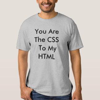 Usted es el CSS…. Remeras