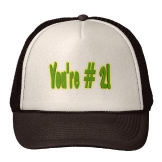 Usted es el gorra #2