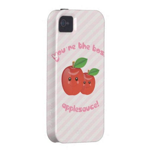 ¡Usted es el jefe, compota de manzanas! Carcasa Case-Mate Para iPhone 4