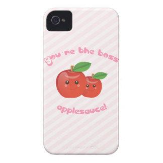 ¡Usted es el jefe, compota de manzanas! Funda Para iPhone 4 De Case-Mate