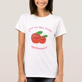 ¡Usted es el jefe, compota de manzanas! Playera