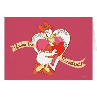 Usted es el más dulce tarjeta de felicitación