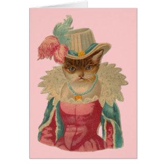 ¡Usted es el maullido del gato! Tarjeta De Felicitación