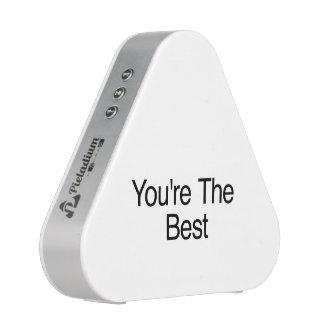 Usted es el mejor altavoz bluetooth