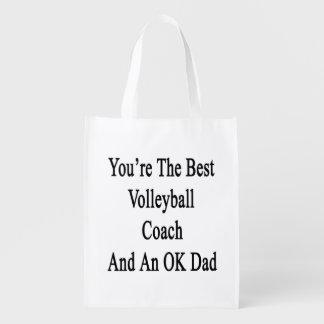 Usted es el mejor coche del voleibol y un papá bolsa de la compra