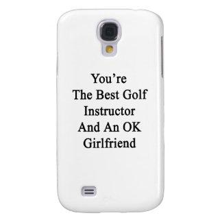 Usted es el mejor instructor del golf y un funda para galaxy s4