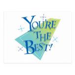 ¡Usted es el mejor! Postales