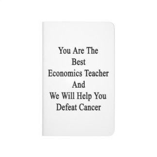 Usted es el mejor profesor de la economía y los He Cuaderno Grapado